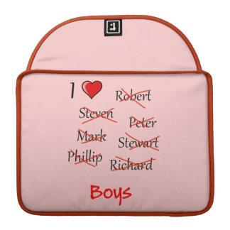 'Ich ♥ Jungen Sleeve Für MacBooks