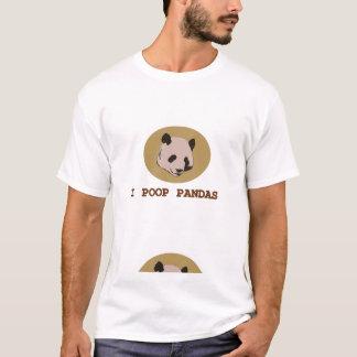 Ich kacke Pandas T-Shirt