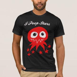 Ich kacke Sterne T-Shirt