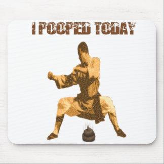 Ich kackte heute! : Karatemist Mousepad