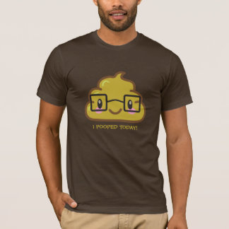 Ich kackte heute!  Smarty Poo T-Shirt