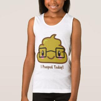 Ich kackte heute!  Smarty Poo Tank Top