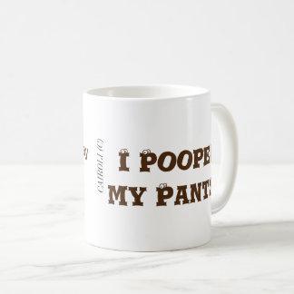 Ich kackte meine Hosen Kaffeetasse