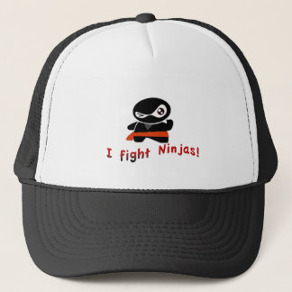 Ich kämpfe Ninjas Truckerkappe