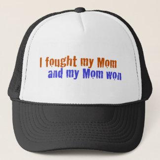 Ich kämpfte meine Mamma Truckerkappe