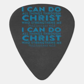 Ich kann alle Sachen durch Christus tun Plektron