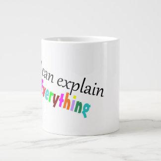 Ich kann alles erklären Tasse