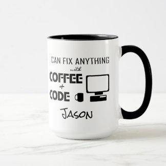 Ich kann alles mit Kaffee regeln und lustiges Tasse