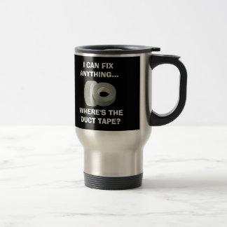 Ich kann alles regeln - wo das Panzerklebeband ist Tee Tassen