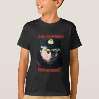 Ich kann Amerika von meinem Haus sehen T-Shirt