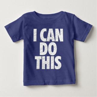 Ich kann dies tun (Dunkelheit) Baby T-shirt