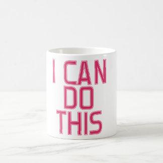 Ich kann dies tun kaffeetasse