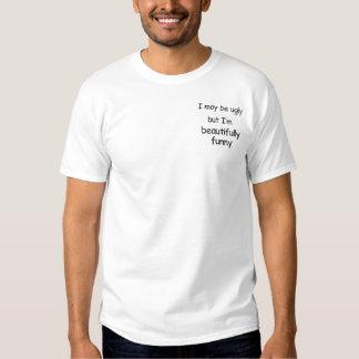 Ich kann hässlich-gesticktes Shirt sein