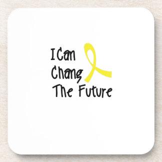 Ich kann Kindheits-Krebs-Bewusstsein Changs Untersetzer
