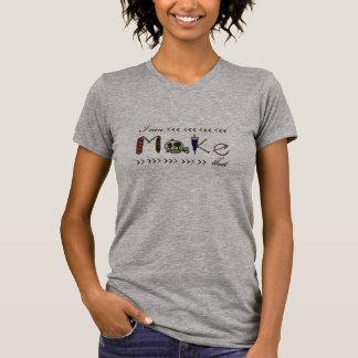 Ich kann machen dass - Crafter-/Herstellert-stück T-Shirt