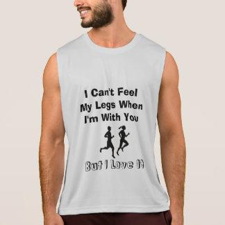 Ich kann meinen Beinen nicht glauben - laufend Tank Top