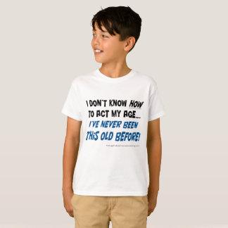 Ich kann nicht! Kindert-shirt T-Shirt