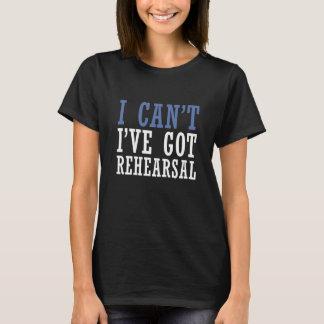Ich kann nicht - Theater T-Shirt