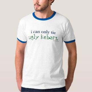 ich kann nur Krawatte hässlicher kebari Wecker-T - T-Shirt