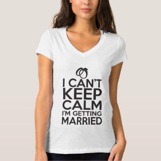 Ich kann Ruhe nicht behalten, ich erhalte T-shirt