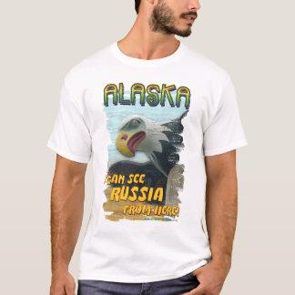 Ich kann Russland von hier sehen T-Shirt