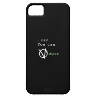 Ich kann. Sie können. Vegan. Telefonfall iPhone 5 Schutzhülle