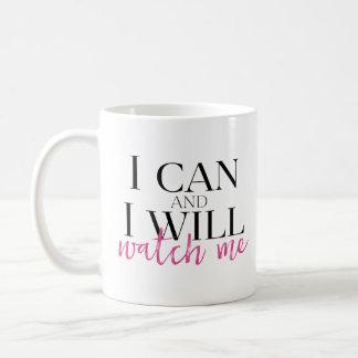 Ich kann und ich passe mich auf, zu reisen Tasse