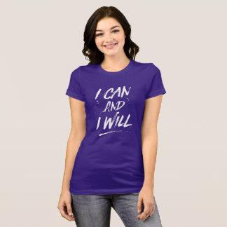 Ich kann und ich zweige ab T-Shirt