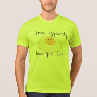 Ich kenne Eggsactly, wie Sie sich fühlen T-Shirt