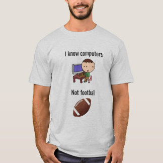 I know computers not football