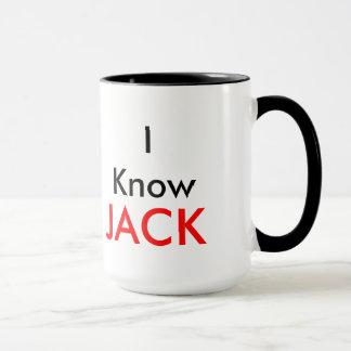 Ich kenne Jack-Tasse Tasse