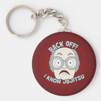 Ich kenne Jujitsu! Schlüsselanhänger