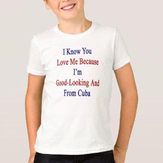 Ich kenne Sie Liebe ich, weil ich schön und Franc T-Shirt