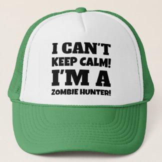 Ich kippe behalte Ruhe Im ein Zombie-Jäger Truckerkappe