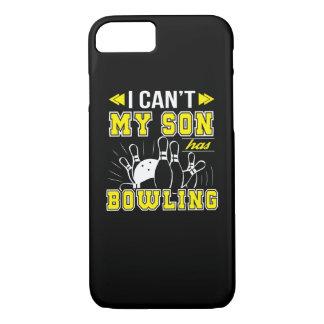 Ich kippe meinen Sohn habe Bowlings-Bowlings-Mamma iPhone 8/7 Hülle