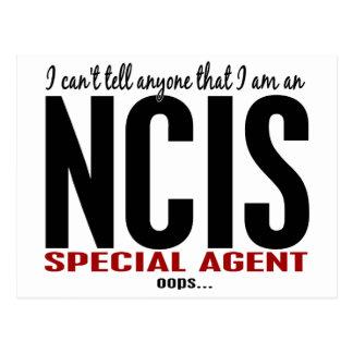 Ich kippe sage jedermann NCIS Agenten Postkarte
