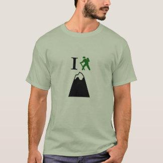 Ich klettere Gebirgst-shirt T-Shirt