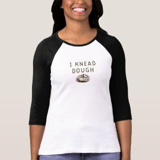 Ich knete Teig-Shirt - den Raglan der Frauen - T-Shirt