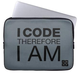 Ich kodiere deshalb mich bin laptop schutzhüllen