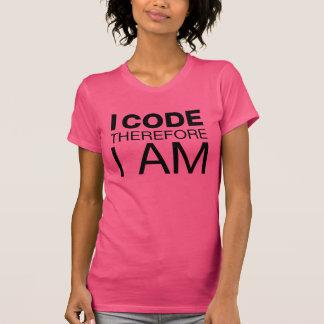 Ich kodiere deshalb mich bin T-Shirt