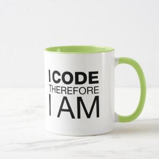Ich kodiere deshalb mich bin tasse