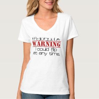 Ich könnte - Gymnastik-Shirt jederzeit umdrehen Hemden