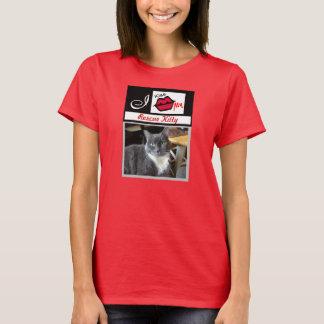 """""""Ich küsse meinen RettungKitty addiere T-Shirt"""