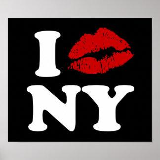 Ich küsse New York Poster