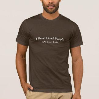 Ich las tote Leute T-Shirt
