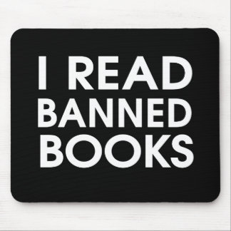 Ich las verbotene Bücher Mousepad
