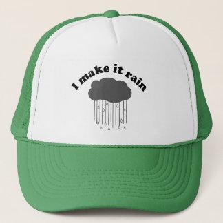 Ich lasse es regnen truckerkappe