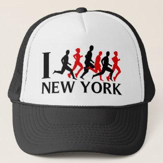 ICH LASSE NEW YORK LAUFEN TRUCKERKAPPE