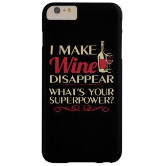 Ich lasse Wein verschwinden Barely There iPhone 6 Plus Hülle