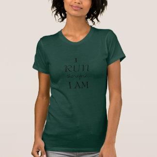 Ich laufe deshalb, ich bin T-Shirt